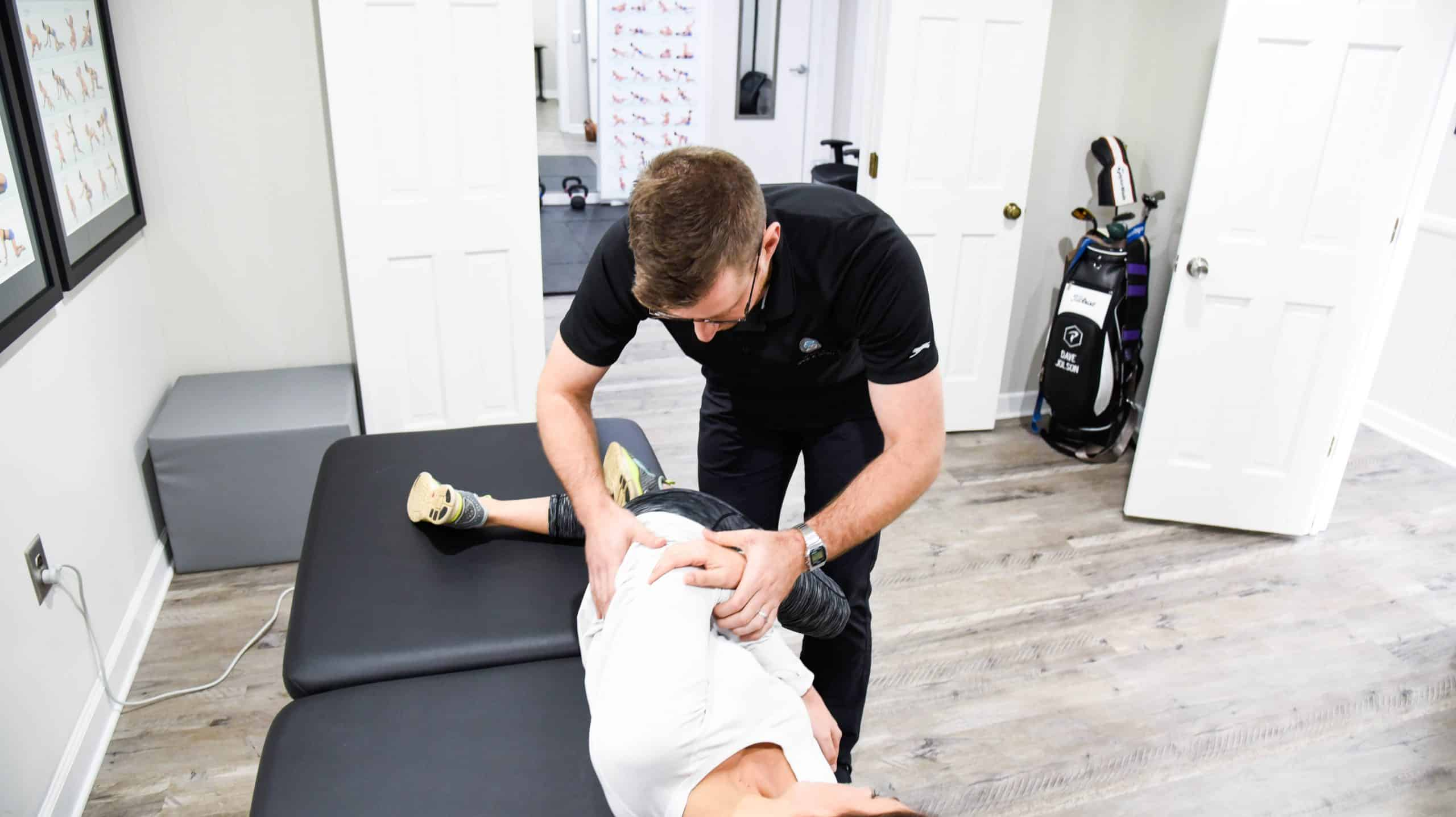David Jolson Chiropractor Greenville SC Adjustment