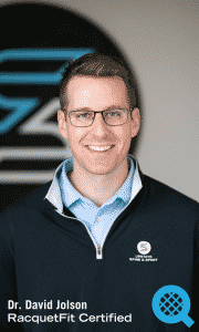Dr. David Jolson Tennis Injury Chiropractor Greenville South Carolina RacquetFit