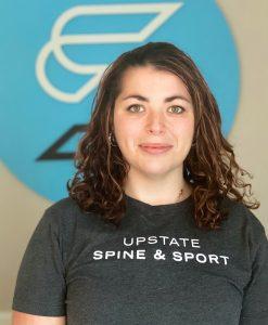 Massage Therapist Greenville SC Shelby Robertson Upstate Spine & Sport 5