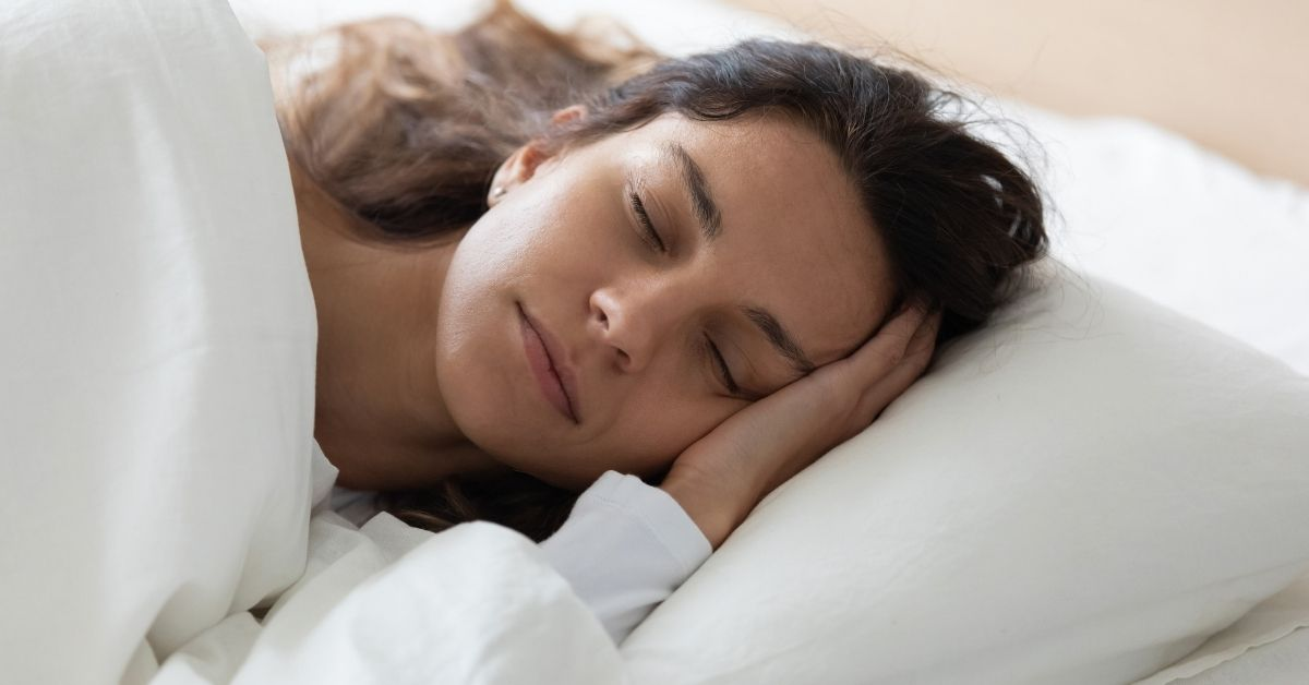 Woman Sleeping On Her Side | Sleep Better If You Have Back Pain